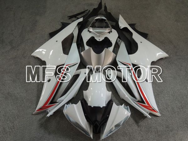 Yamaha YZF-R6 2008-2016 Injection ABS Fairing - Factory Style - White - MFS5397