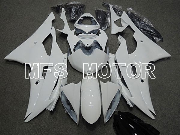 Yamaha YZF-R6 2008-2016 Injection ABS Fairing - Factory Style - White - MFS5399