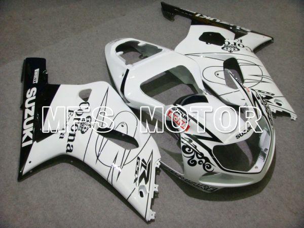 Suzuki GSXR1000 2000-2002 Injection ABS Fairing - Corona - White - MFS5403