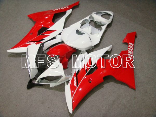 Yamaha YZF-R6 2008-2016 Injection ABS Fairing - Factory Style - Red White - MFS5413