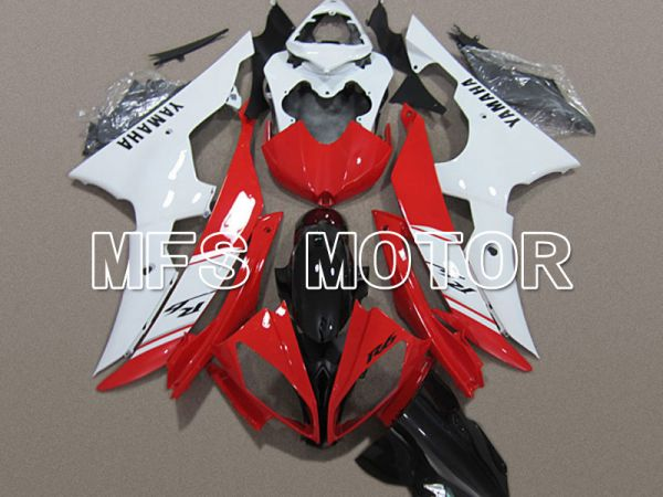 Yamaha YZF-R6 2008-2016 Injection ABS Fairing - Factory Style - Red White - MFS5414