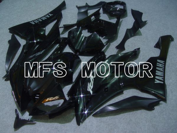 Yamaha YZF-R6 2008-2016 Injection ABS Fairing - Factory Style - Black - MFS5425