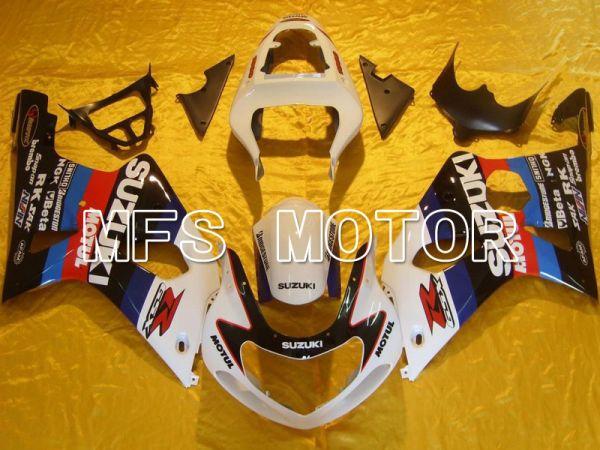 Suzuki GSXR1000 2000-2002 Injection ABS Fairing - MOTUL - Black White - MFS5433