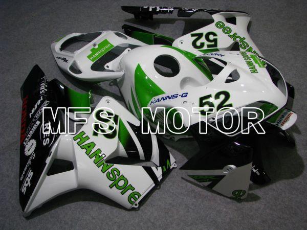 Honda CBR600RR 2005-2006 Injection ABS Fairing - HANN Spree - Black White Green - MFS5435