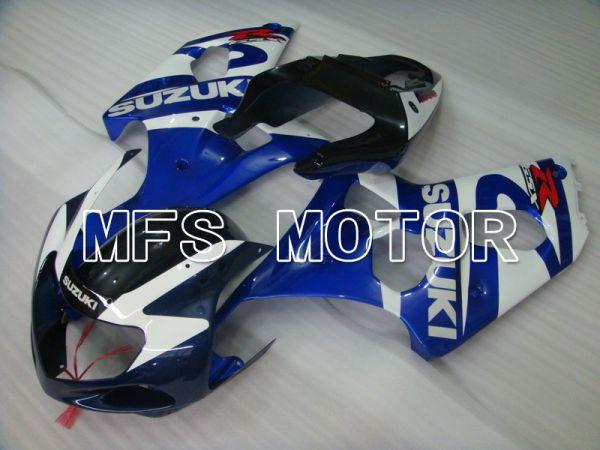Suzuki GSXR1000 2000-2002 Injection ABS Fairing - Factory Style - Blue White - MFS5448