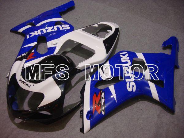 Suzuki GSXR1000 2000-2002 Injection ABS Fairing - Factory Style - Blue White - MFS5449