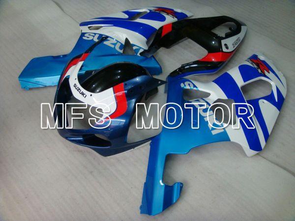 Suzuki GSXR1000 2000-2002 Injection ABS Fairing - Factory Style - Blue White - MFS5453