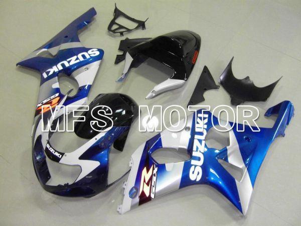 Suzuki GSXR1000 2000-2002 Injection ABS Fairing - Factory Style - Blue White - MFS5456
