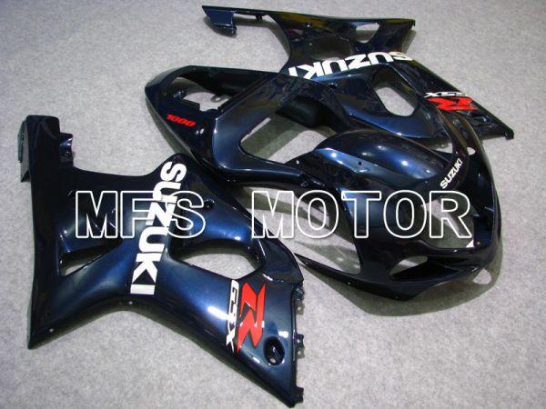 Suzuki GSXR1000 2000-2002 Injection ABS Fairing - Factory Style - Blue - MFS5457