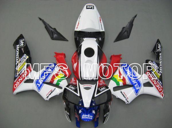 Honda CBR600RR 2005-2006 Injection ABS Fairing - Eutobet - Red Black White - MFS5460