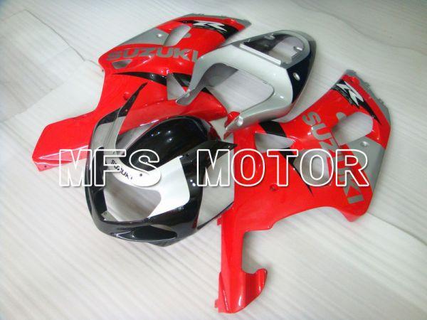 Suzuki GSXR1000 2000-2002 Injection ABS Fairing - Factory Style - Red Silver - MFS5471