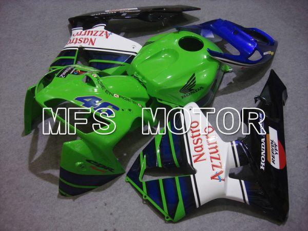 Honda CBR600RR 2005-2006 Injection ABS Fairing - Nastro Azzurro - Black Green - MFS5475