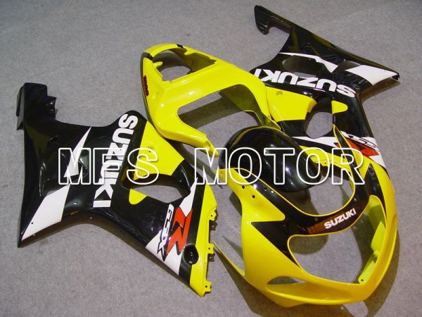 Suzuki GSXR1000 2000-2002 Injection ABS Fairing - Factory Style - Yellow Black - MFS5486
