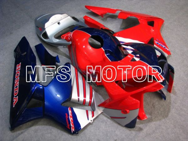 Honda CBR600RR 2005-2006 Injection ABS Fairing - Factory Style - Red Blue Silver - MFS5492