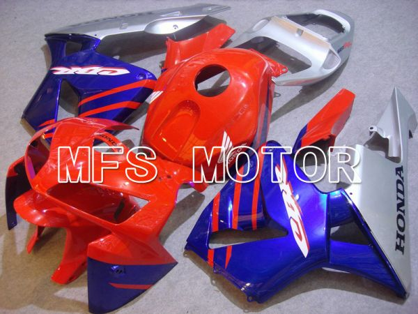 Honda CBR600RR 2005-2006 Injection ABS Fairing - Factory Style - Blue Red - MFS5495