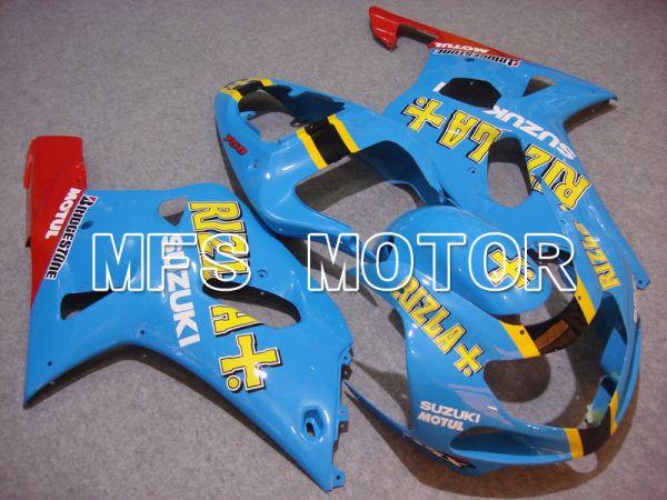 Suzuki GSXR1000 2000-2002 Injection ABS Fairing - Rizla+ - Blue - MFS5505