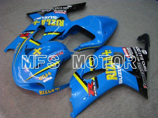 Suzuki GSXR1000 2000-2002 Injection ABS Fairing - Rizla+ - Blue - MFS5506
