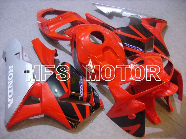Honda CBR600RR 2005-2006 Injection ABS Fairing - Factory Style - Red Black - MFS5509