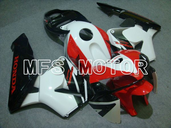 Honda CBR600RR 2005-2006 Injection ABS Fairing - Others - Black White Red - MFS5510