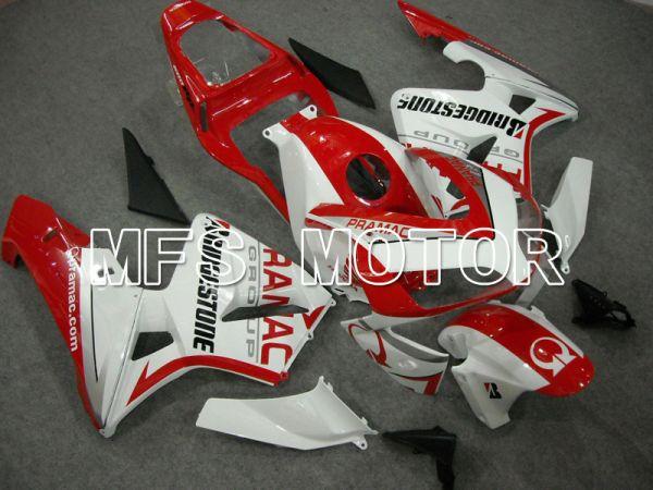 Honda CBR600RR 2003-2004 ABS Injection Fairing - PRAMAC - Red White - MFS5513
