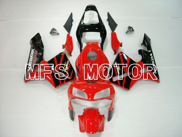 Honda CBR600RR 2003-2004 ABS Injection Fairing - Factory Style - Red Black White - MFS5516