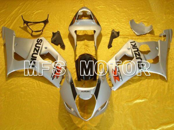 Suzuki GSXR1000 2003-2004 Injection ABS Fairing - Silver - Factory Style - MFS5524