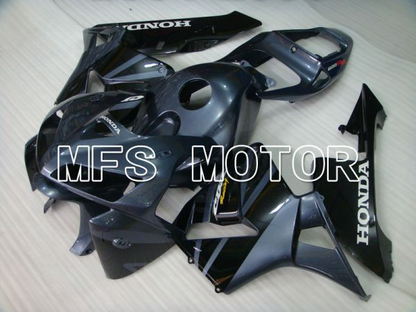 Honda CBR600RR 2005-2006 Injection ABS Fairing - Factory Style - Gray Black - MFS5526