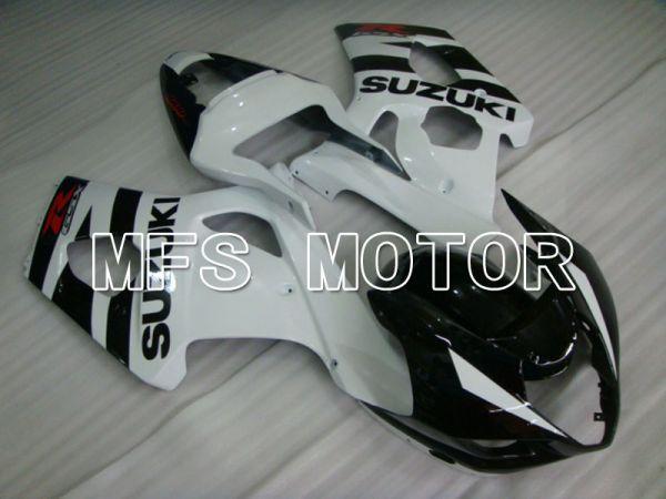 Suzuki GSXR1000 2003-2004 Injection ABS Fairing - Black White - Factory Style - MFS5528