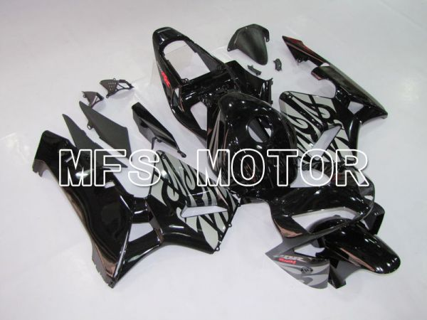 Honda CBR600RR 2003-2004 ABS Injection Fairing - Others - Black Silver - MFS5529