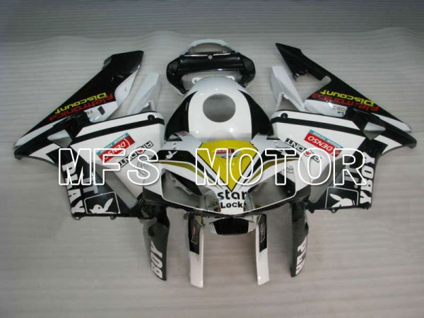 Honda CBR600RR 2005-2006 Injection ABS Fairing - PlayBoy - White Black - MFS5533