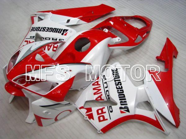 Honda CBR600RR 2005-2006 Injection ABS Fairing - PRAMAC - White Red - MFS5534