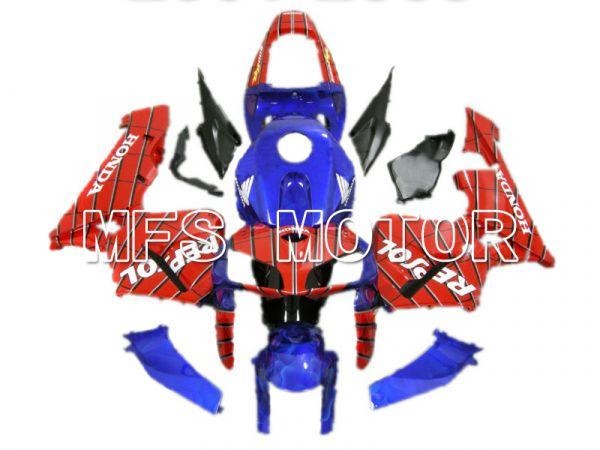 Honda CBR600RR 2005-2006 Injection ABS Fairing - Repsol - Blue Red - MFS5541