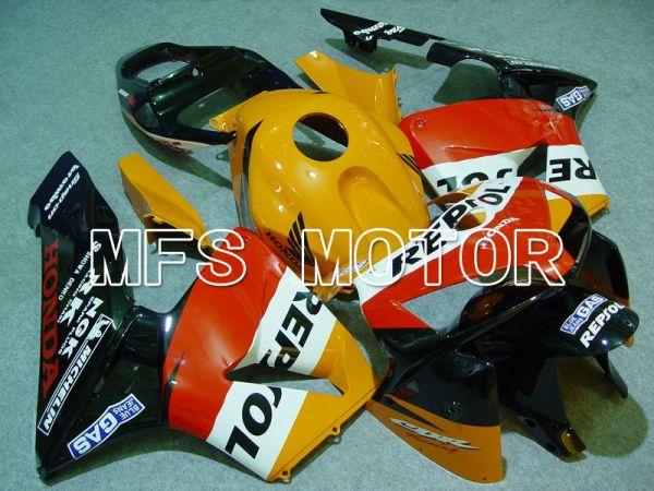Honda CBR600RR 2005-2006 Injection ABS Fairing - Repsol - Orange Red Black - MFS5545