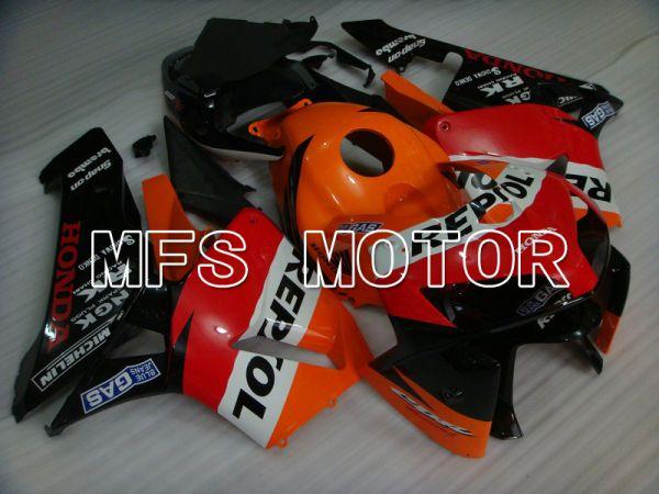 Honda CBR600RR 2005-2006 Injection ABS Fairing - Repsol - Orange Red Black - MFS5548