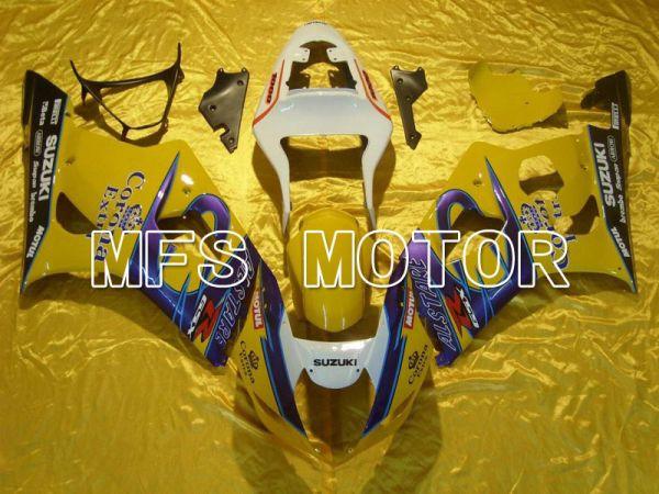 Suzuki GSXR1000 2003-2004 Injection ABS Fairing - Blue Yellow - Conora - MFS5550