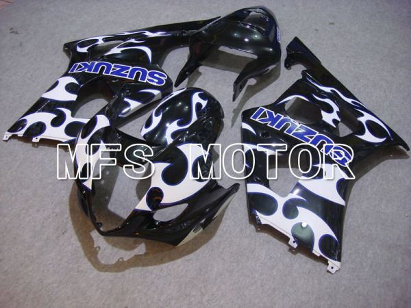 Suzuki GSXR1000 2003-2004 Injection ABS Fairing - Black White - Others - MFS5555