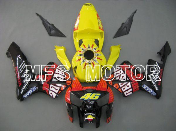 Honda CBR600RR 2005-2006 Injection ABS Fairing - Rossi - Black Yellow - MFS5559
