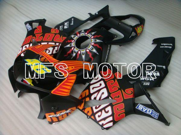 Honda CBR600RR 2005-2006 Injection ABS Fairing - Rossi - Black Matte - MFS5561