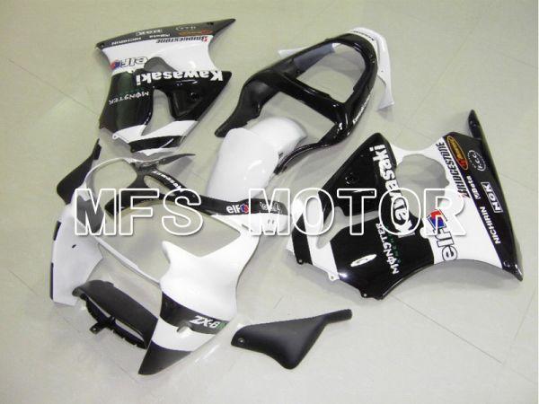 Kawasaki NINJA ZX6R 2000-2002 Injection ABS Fairing - Monster - Black White - MFS5570