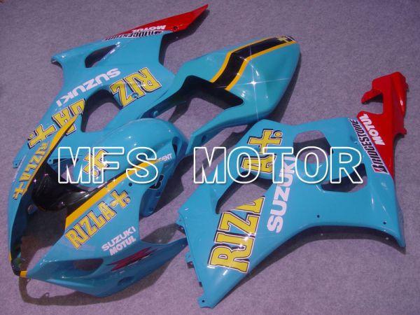 Suzuki GSXR1000 2003-2004 Injection ABS Fairing - Blue - Rizla+ - MFS5572