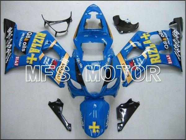Suzuki GSXR1000 2003-2004 Injection ABS Fairing - Blue - Rizla+ - MFS5573