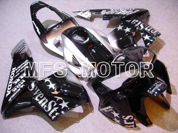 Honda CBR600RR 2005-2006 Injection ABS Fairing - SevenStars - Black Silver - MFS5574