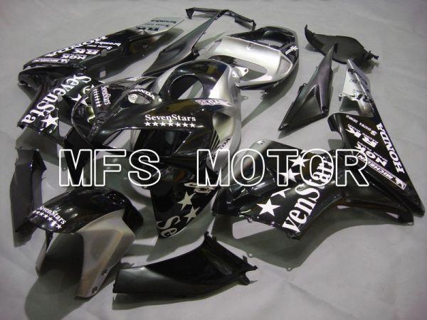 Honda CBR600RR 2005-2006 Injection ABS Fairing - SevenStars - Black Silver - MFS5575