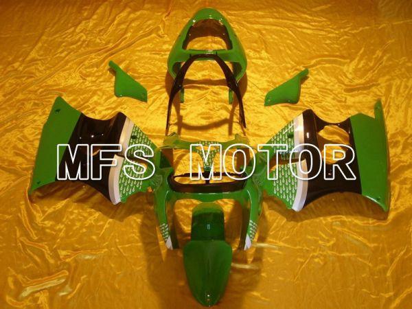 Kawasaki NINJA ZX6R 2000-2002 Injection ABS Fairing - Others - Black Green - MFS5577