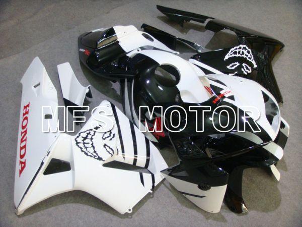 Honda CBR600RR 2005-2006 Injection ABS Fairing - Skull - White Black - MFS5579