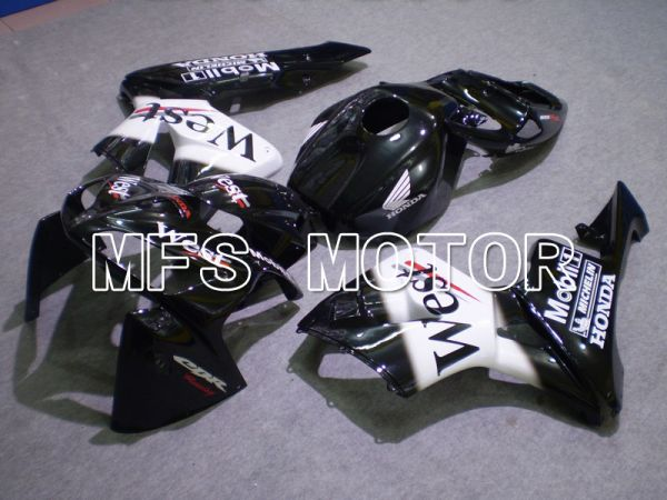 Honda CBR600RR 2005-2006 Injection ABS Fairing - West - White Black - MFS5582