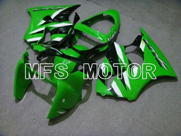 Kawasaki NINJA ZX6R 2000-2002 Injection ABS Fairing - Factory Style - Black Green - MFS5594