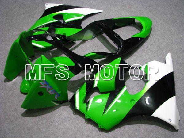 Kawasaki NINJA ZX6R 2000-2002 Injection ABS Fairing - Factory Style - Black Green - MFS5596