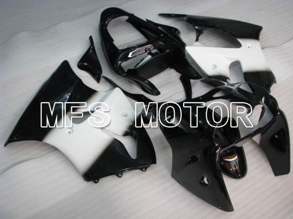 Kawasaki NINJA ZX6R 2000-2002 Injection ABS Fairing - Factory Style - Black White - MFS5605