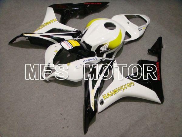 Honda CBR600RR 2007-2008 Injection ABS Fairing - HANN Spree - Black White - MFS5638